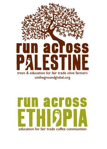 run across….