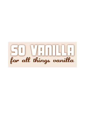 so vanilla