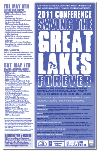 saving the great lakes conference