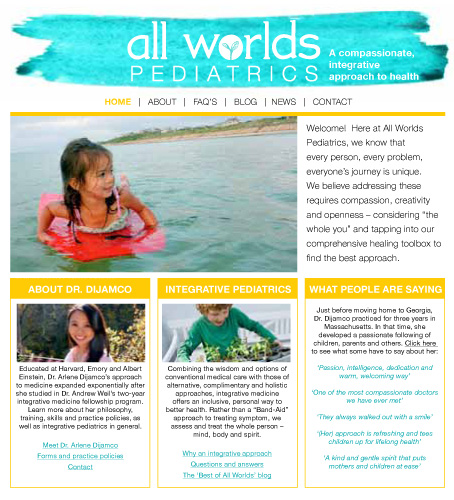 all worlds pediatrics