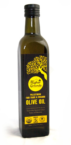 higher grounds palestinian olive oil