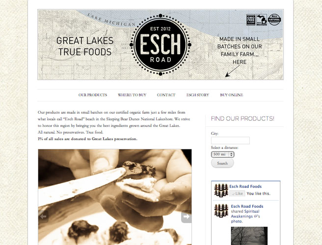 ESCH ROAD FOODS