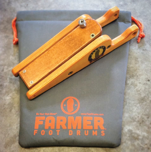 Farmer Foot Drums